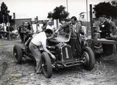 Alf Barrett, Alfa Romeo 8C2300 Monza, Australian Grand Prix, Bathurst 1947 (George Reed)...