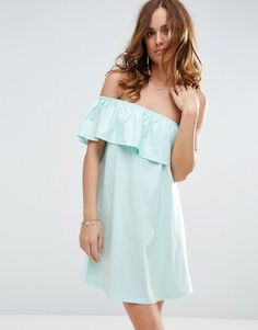 ASOS One Shoulder Dress With Frill ($23)