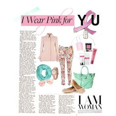 """I Wear Pink For You"" by galoeh11 on Polyvore"