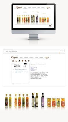 Ranqueles fue un proyecto diseñado en el 2004, cuando comenzaron y requerían lanzar sus productos en el mercado digital a parte del convencional. Necesitaban que el diseño sea dinámico, simple y atractivo donde sus productos se muestren como protagonistas acompañados de sus características principales y una sección con varias recetas para acompañar y darle a sus clientes un extra.