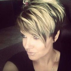 Hair Colors for Pixie Cuts