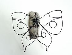 Butterfly Wire Sculpture