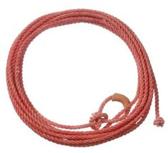 "Tough-1 Kids Ranch Rope by horse.com. $13.90. A top quality nylon lariat made the right weight and length for junior ropers. Tied and streched 25 feet before tying. 5/16"" size. Sewn leather burner.. Save 21% Off!"
