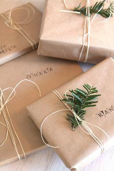 muotoseikka\ Ihan simppelisti / Simple wrapping