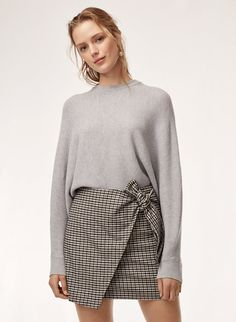 Check out the latest skirts from Aritzia and its exclusive brands. Shop mini, maxi, knee-length, flared, pleated and pencil skirts. Fall Fashion Skirts, Work Fashion, Cute Fashion, Autumn Fashion, Fashion Spring, Fashion Top, Fashion Edgy, Fashion Trends, New Outfits