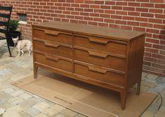 Nursery Progress: Refinishing A Veneer Dresser | Young House Love
