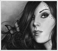 kat von d drawing-artist unknown Miami Ink, Sketch A Day, Famous Art, Kat Von D, Inked Girls, I Tattoo, Tattoo Artists, Body Art, Eye Makeup