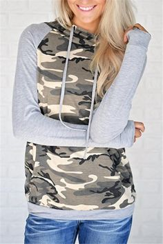 9e6b8be53fbb Pavacat Need It Now Camouflage Pattern Hoodies