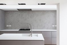 Complete refurbishment of a Vicorian house in Clapham. Victorian Terrace House, House Extensions, Corian, Kitchen Interior, Minimalism, Sink, Modern, Interiors, Design