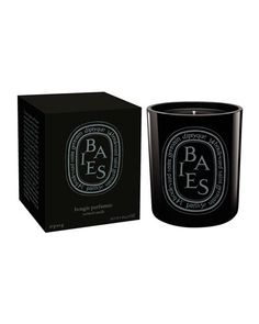 NEW LARGER SIZED COLORED CANDLE The classic Baies scent presented in a black colored glass container.Baies scent recalls a bouquet of roses and blackcurrant leaves, a companion to diptyque eau de toilette, L'Ombre dans l'Eau. Size: oz) Made in France Diptyque Bougie, Diptyque Candles, Scented Candles, Home Scents, Home Fragrances, Currant Berry, Perfume, Thing 1, Black Candles