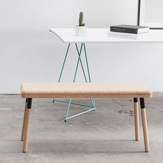 Cork and ply Bench
