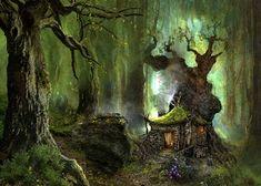 Image detail for -Free Woodland cottage Wallpaper - Download The Free Woodland cottage ...