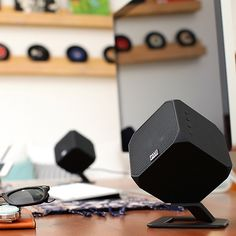 Your home and office will come alive with these powerfully clear cubic speakers.