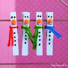 Manualidades de invierno para niños