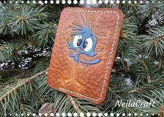 Cardholder little bird мinimalist leather