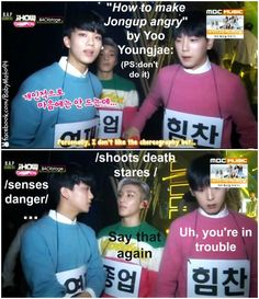 """Uh, you're in trouble"" 