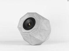 Simple Musikgenuss ganz neu entdecken Dieser Lautsprecher besticht nicht nur durch seine ausgefallene Diamantform sondern