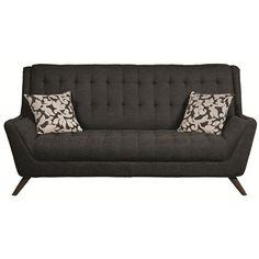 Natalia Sofa in Black – Simply Austin Furniture