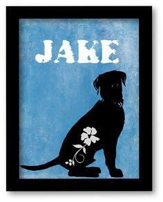 looks like my jake <3 Labrador Retriever Print Black Lab artwork by DIGIArtPrints, $10.00