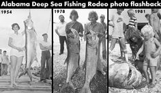 Take a look back at the Alabama Deep Sea Fishing Rodeo through the years in this gallery dating back to 1954. #fishing #photoflashback