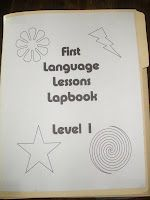 First Language Lessons lapbook