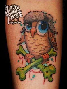 ~Owl & Cross Bones~