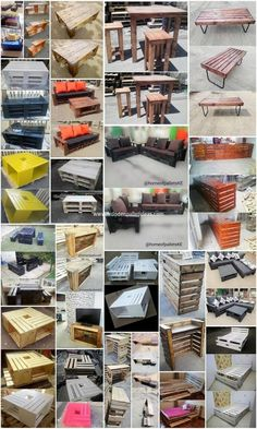 Got Pallets? These Amazing DIY Pallet Ideas Easy to Copy: As you would be making the search around over the old shipping wood pallet projects, you would be probably be finding enchanting. Old Pallets, Recycled Pallets, Wooden Pallets, Pallet Crafts, Pallet Projects, Small Woodworking Projects, Woodworking Tools, Pallet Shed, Pallet Ideas Easy