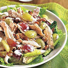 Chicken, Grape and Walnut Salad Recipe