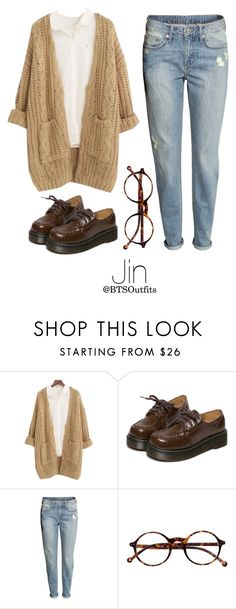 """Vintage Shopping with Jin"" by btsoutfits ❤ liked on Polyvore featuring Chicnova Fashion, WithChic, H&M, Retrò and vintage"
