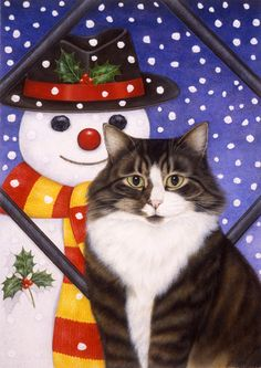 """Snow Pals"" by Anne Mortimer"