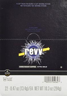 Revv KCup for Keurig Brewers Dark Roast Pack of 88 *** Click on the image for additional details.