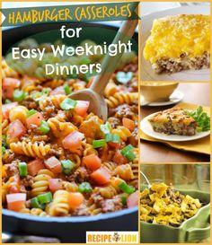 12 Hamburger Casserole Recipes for Easy Weeknight Dinners