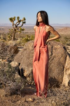 Love this color and Joshua tree. Awaveawake Fall 2016 Ready-to-Wear Fashion Show