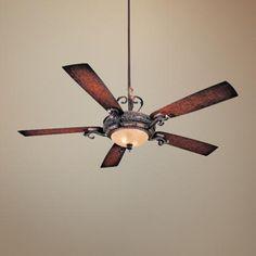 "68"" Minka Aire Napoli Walnut Finish Ceiling Fan - #63980   LampsPlus.com - $579"