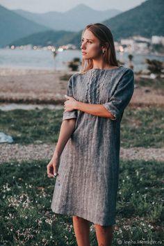 "Buy Dress felted ""Pearl morning"" on Livemaster online shop"