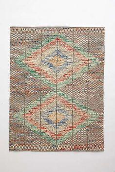 Floor rug from Anthropologie.