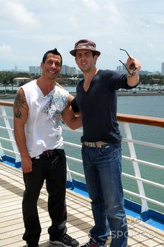 """I think Joe is saying, """"What!? Lindsay can't go on the cruise?? Screw that! Turn this ship around and go get her!"""""""
