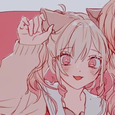 art by: akito_mamang on twitter Cute Anime Profile Pictures, Matching Profile Pictures, Cute Anime Pics, M Anime, Anime Art Girl, Kawaii Anime, Friend Anime, Anime Best Friends, Anime Couples Drawings
