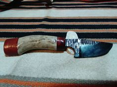 Check out this item in my Etsy shop https://www.etsy.com/listing/253343977/choctaw-skinner-knife-2015