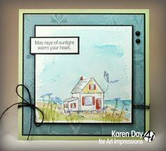 4606 – Cottage By the Beach – Art Impressions