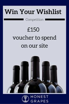 To be in with a chance of winning your favourite six bottles of wine from the Honest Grapes website, all you need to do is:  1. Follow us on Pinterest 2. Create a Pinterest board that contains six of the wines from www.honestgrapes.co.uk  3. Submit your details here: https://r1.dotmailer-surveys.com/7e2egbe1-3b1rmy6d  Good luck!