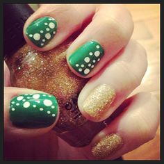 amyplaysart is getting festive! Show us your best St. Paddy's Day nails—and they could be featured on our Pinterest and Instagram! Tag a pic of your festive mani with #SephoraStPaddys