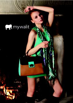 Our new Paris collection features clean lines, fashionable detailing and great exterior color blocking. Stay on top of the trends this season! -- #leather #colorblocking #accessories #mywalit #handbags #fashion