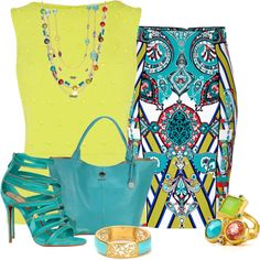 Multi-Colored Jewelry, created by queenranya on Polyvore
