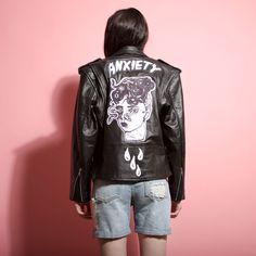 Anxiety Leather Jacket