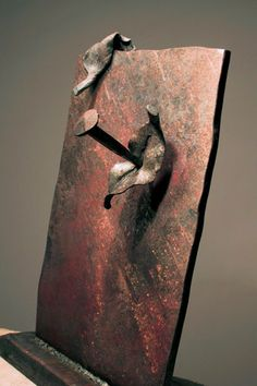 Giuseppe Pongolini, DOOR OF THE SKY, contemporary forged iron sculpture