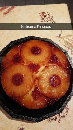 Gâteau ananas | Recettes Cookéo Brookies Recipe, Easy Cake Recipes, Creamy Chicken, Chocolate Recipes, Chocolate Chip Cookies, Crockpot Recipes, Cooker, Pineapple, Easy Meals