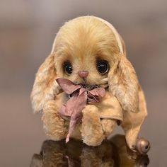 Too cute bunny Cute Stuffed Animals, Cute Baby Animals, Crochet Teddy, Crochet Toys, Teddy Toys, Cute Teddy Bears, Bear Doll, Cute Toys, Cute Bunny