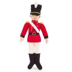 Anne-Claire Petit Crochet Soldier Doll at alexandalexa.com