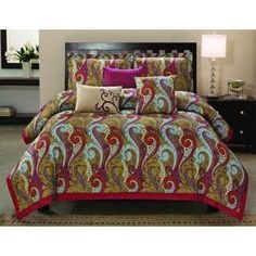 Shop for Manchester 6-piece Cotton Comforter Set and more for everyday discount prices at Overstock.com - Your Online Fashion Bedding Store!